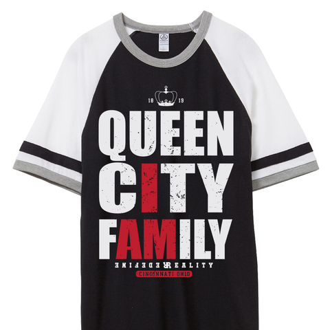 Queen City Fam Black Jersey