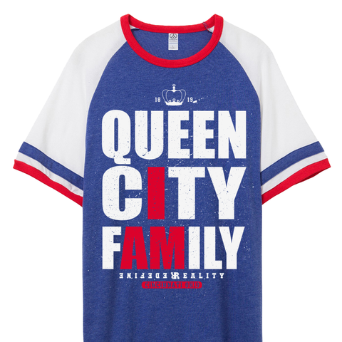 Queen City Fam Blue Jersey