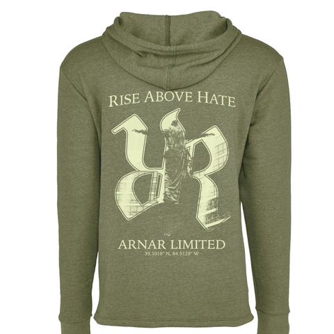 Rise Above Hate - Hoodie