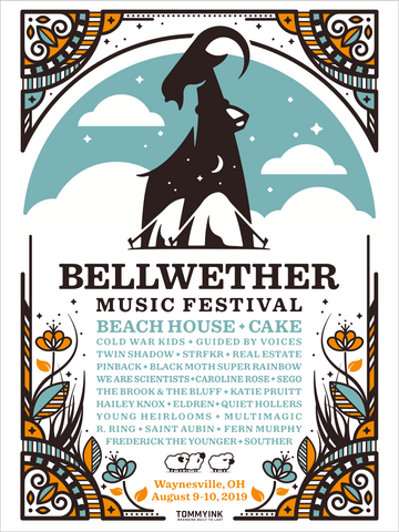 Bellwether 2019 Festival Poster
