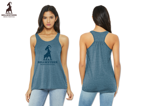 Bellwether 2019 Ladies Slub Racerback Tank