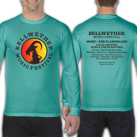 Official 2018 Bellwether Teal Long Sleeve
