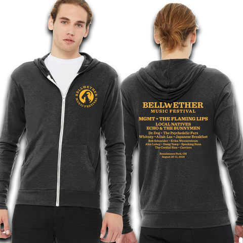 Official 2018 Bellwether Zip-Up Hoodie