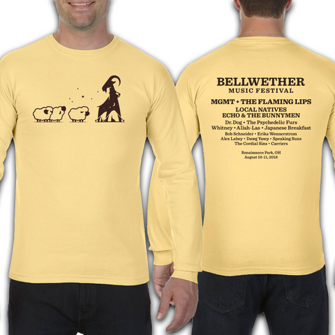 Official 2018 Bellwether Yellow Long Sleeve