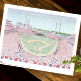 Great American Ballpark - Art of Words Print