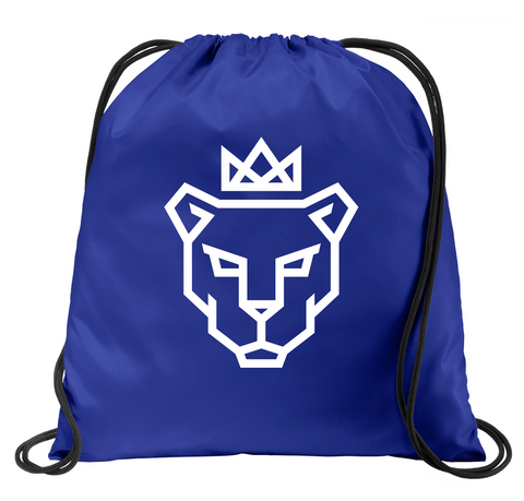 Pride Blue Drawstring Bag