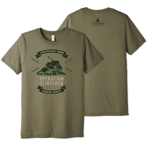 Listermann Brewing Operation Flintlock Tee