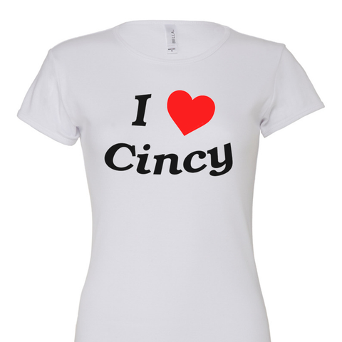 Cincy Love Ladies Tee