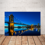 """Roebling Reflections"" - Canvas"