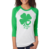 St. Paddy's Lucky AF Unisex 3/4 Sleeve