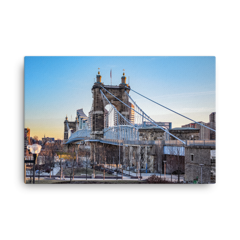 """Roebling Sunrise"" - Canvas"