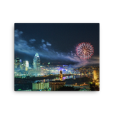 """WEBN Fireworks"" - Canvas"