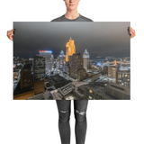 """Cincinnati Alive At Night"" - Poster"