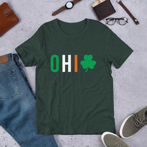 Lucky Ohio St Patrick's Day Tee