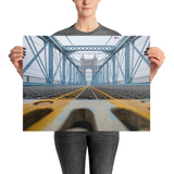 """Bridge Crossing"" - Poster"