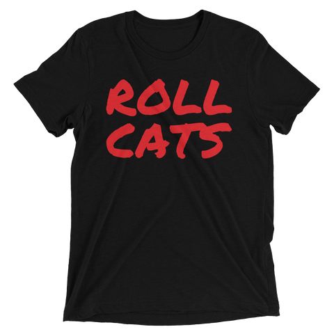 Roll Cats Black Tee