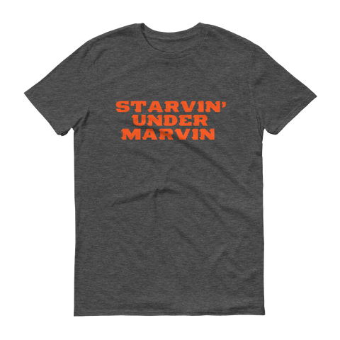 Starvin' Under Marvin Dark Heather Tee