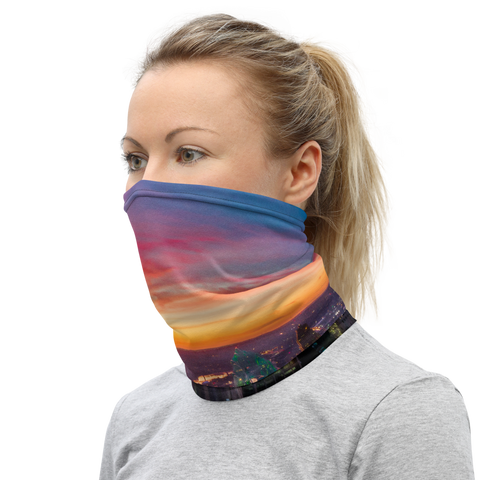 Cincinnati Sunset Face Mask