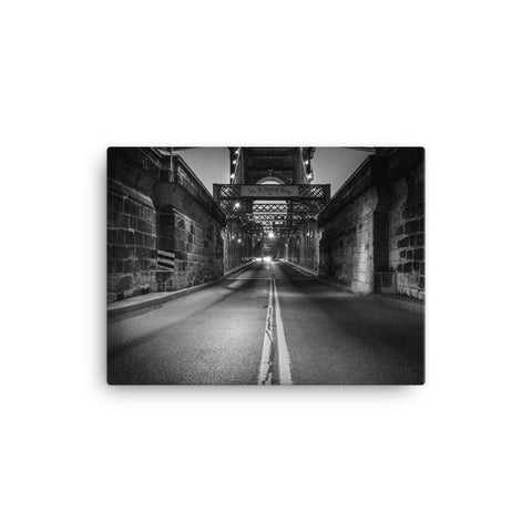 """Enter Roebling"" - Canvas"