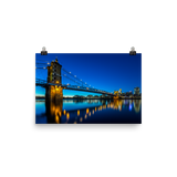 """Roebling Reflections"" - Poster"