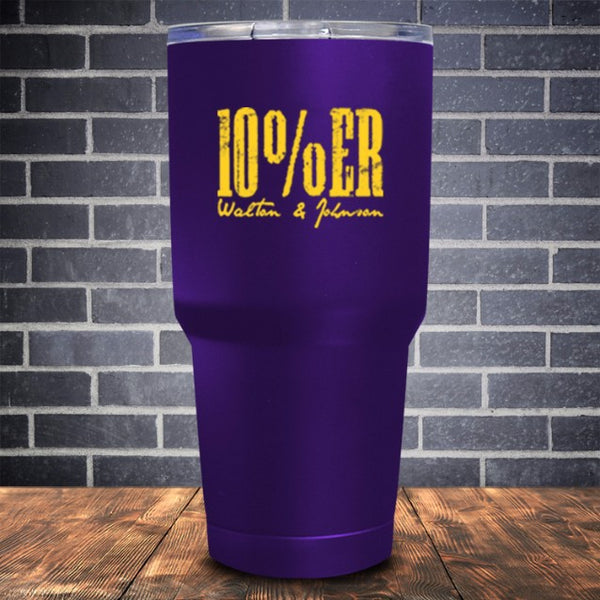 10% ER Coated UV Tumbler