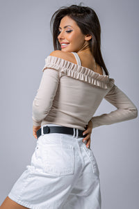 www.flockfashion.com Long sleeve top