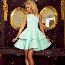169-4 Fit & Flare Mini Dress In Mint
