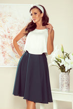 NEW 266-1 Green Flared Skirt with Pockets
