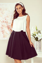 NEW 266-2 Black Flared Skirt with Pockets