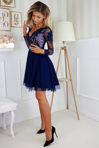 www.flockfashion.com Fit and Flare Tulle Party Mini Dress