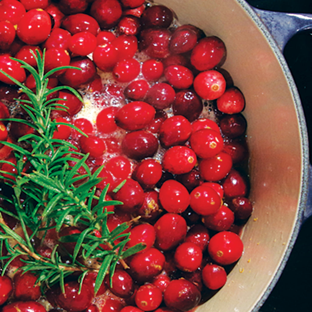 The Easiest Holiday Side Dish:Fresh Cranberry Sauce