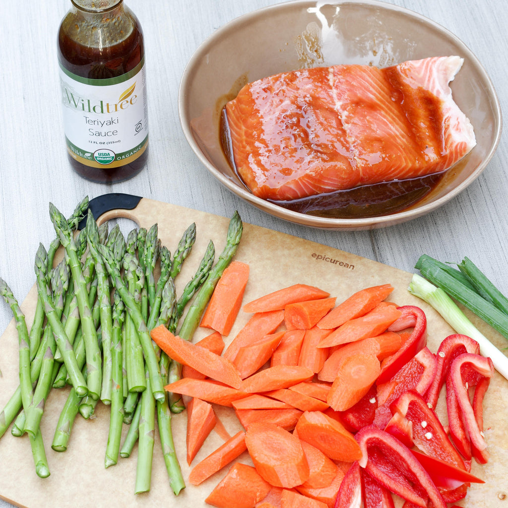 Wildtree Fresh Meal - Teriyaki Salmon