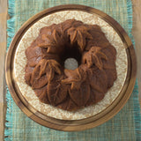 Harvest Leaves Bundt Pan - Fishes & Loaves