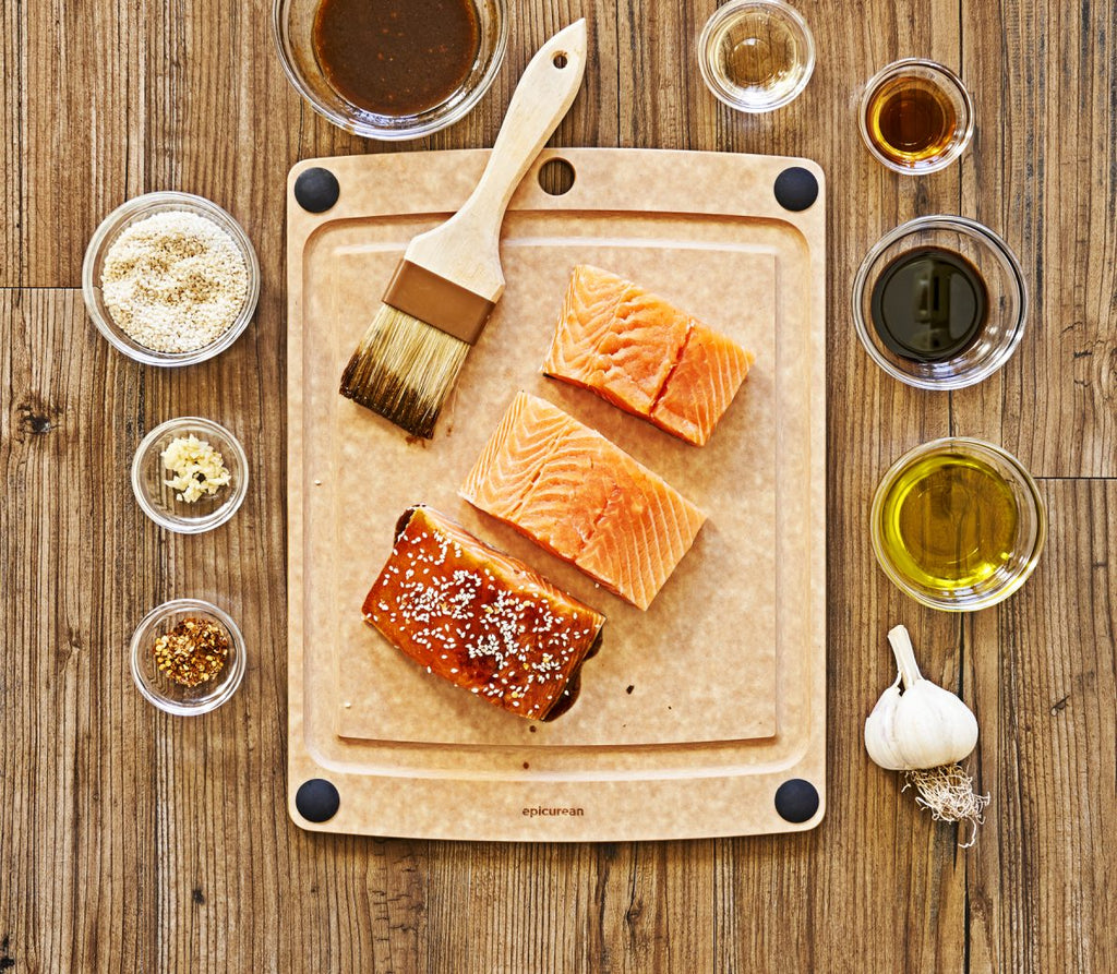 All-in-One Cutting and Prep Board - Fishes & Loaves
