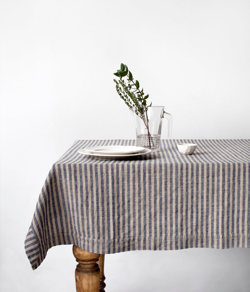Linen Tablecloth - Fishes & Loaves