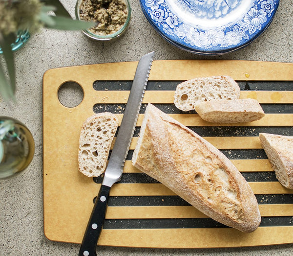 Bread Board Cutting Board - Fishes & Loaves