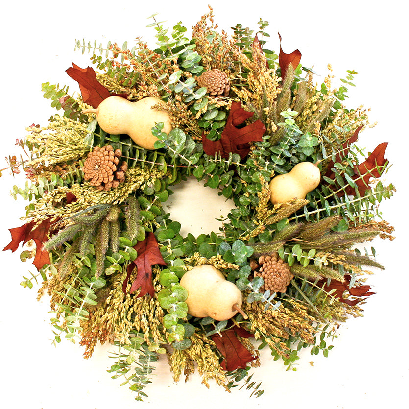 Gourd Wreath - Fishes & Loaves
