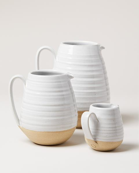 Farmhouse Pottery - Farmhouse Pitcher - Fishes & Loaves