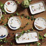 Forest Walk - Sentiment Tidbits Plates - Set/ 4 - Fishes & Loaves