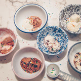 Enamelware - Cereal/Salad Bowl - Fishes & Loaves