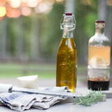 Kilner Square Clip Top Glass Bottle - Fishes & Loaves