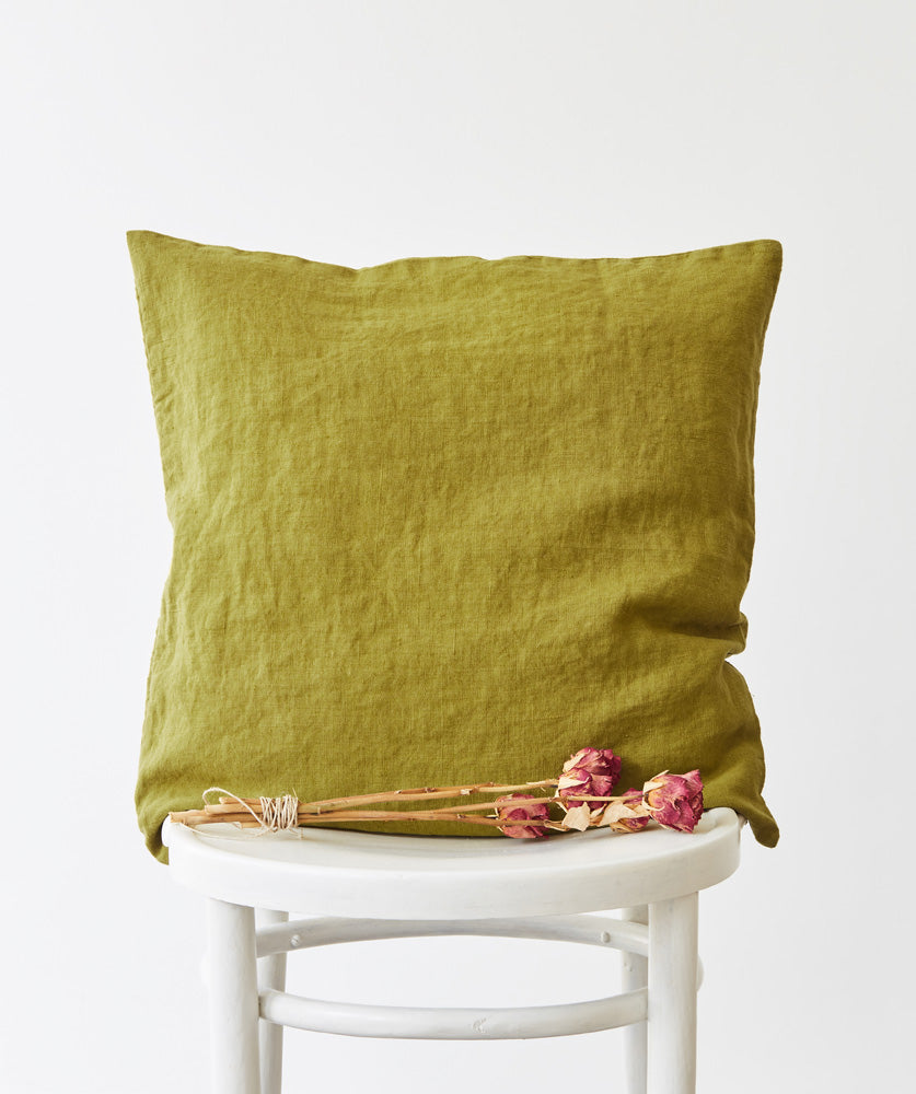Linen Pillows - Fishes & Loaves
