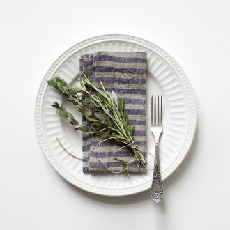 Linen Napkins - Stripes Collection - Fishes & Loaves