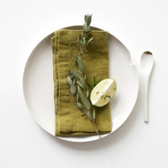 Linen Napkins - Collection of Solid Colours - Fishes & Loaves
