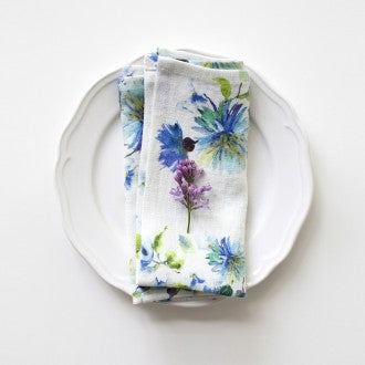 Linen Napkins - Print Collection - Fishes & Loaves