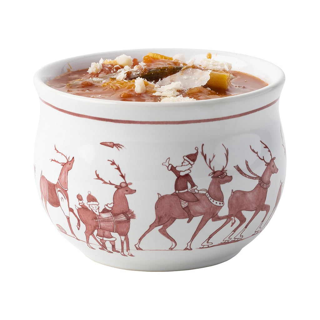 Comfort Bowl - Country Estate Reindeer Games Colleciton - Fishes & Loaves