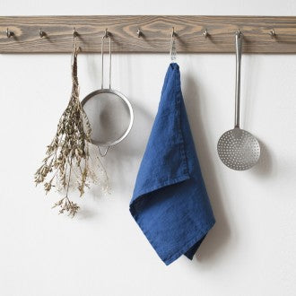 Linen Kitchen Towels - Fishes & Loaves