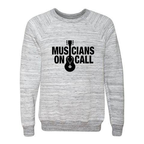 Musicians On Call Marble Crewneck