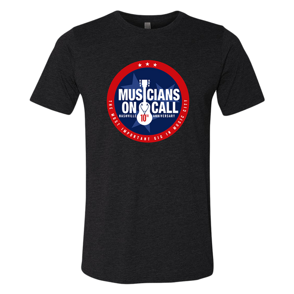 Musicians On Call Nashville 10th Anniversary Tee