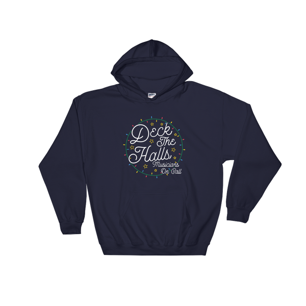 "Musicians On Call ""Deck The Halls"" Hooded Sweatshirt"